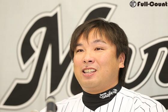 引退の里崎、ロッテSAに就任 「日本一の球団となれるように貢献したい」