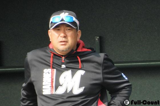 ロッテ・伊東勤監督【写真:編集部】