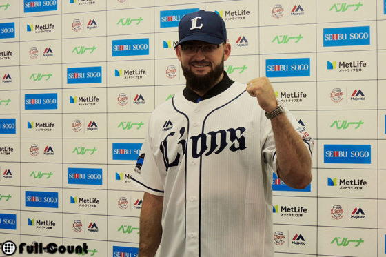 先発投手として期待された西武・ファイフは自由契約に【写真:上岡真里江】