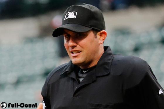 メジャーリーグでアンパイアを務めるジョン・タンペーン氏【写真:Getty  Images】