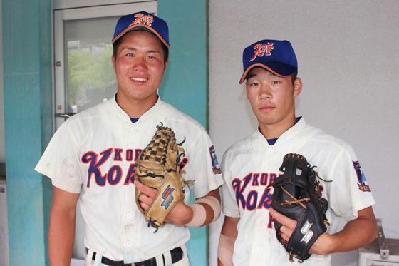 (左)田淵友二郎、(右)後藤貴大【写真:沢井史】