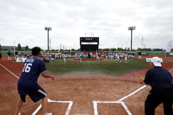 「MLBCUP 2017」が石巻市で開幕した【写真提供:MLB ジャパン】
