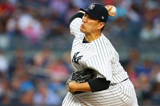 圧巻投球をみせたヤンキース・田中将大【写真:Getty Images】