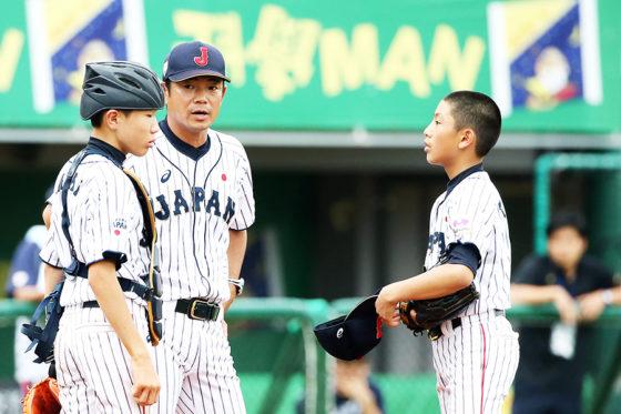 侍ジャパンU-12代表の仁志敏久監督【写真:Getty Images】