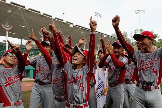 リトルリーグ世界選手権で世界一に輝いた東京北砂リトルリーグ【写真:Getty Images】
