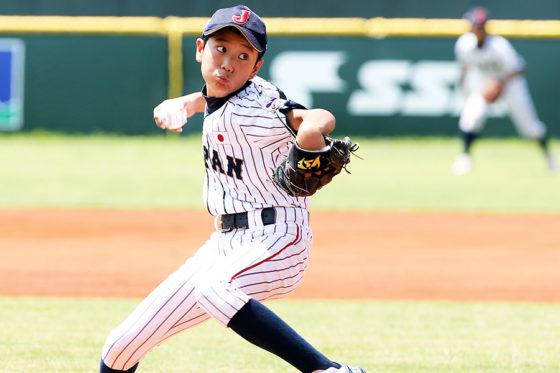 侍ジャパンU-12代表・山田脩也【写真:Getty Images】