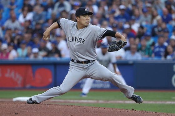 ヤンキース・田中将大【写真:Getty Images】
