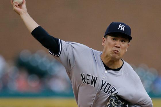 今季9勝目を挙げたヤンキース・田中将大【写真:Getty Images】
