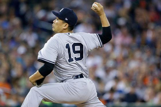 9勝目を挙げたヤンキース・田中将大【写真:Getty Images】