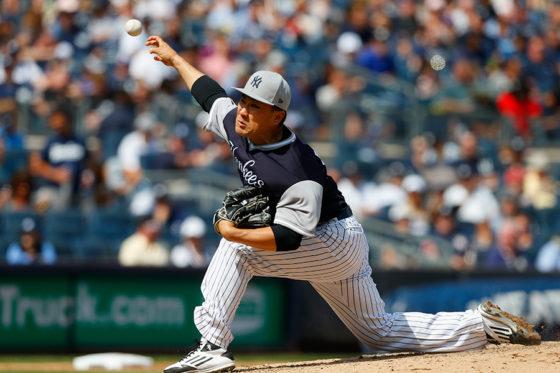 今季10勝目を挙げたヤンキース・田中将大【写真:Getty Images】