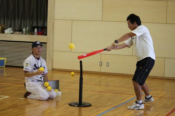 「ベースボール型授業研究会」の様子【写真:広尾晃】