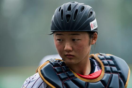 野球女子日本代表の緒方佑華【写真:Getty Images】