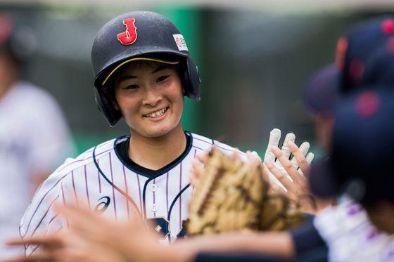 野球女子日本代表・吉井温愛主将【写真:Getty Images】