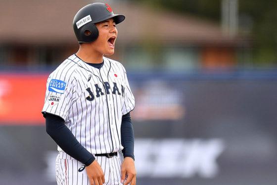 侍ジャパンU-18代表として活躍した清宮幸太郎【写真:Getty Images】