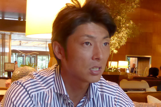 元ソフトバンクのエース右腕・斉藤和巳氏【写真:編集部】