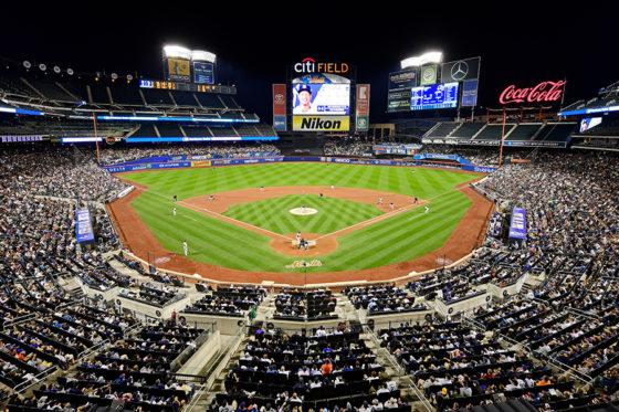 レイズ主催のヤンキース戦が行われたメッツ本拠地のシティフィールド【写真:Getty Images】