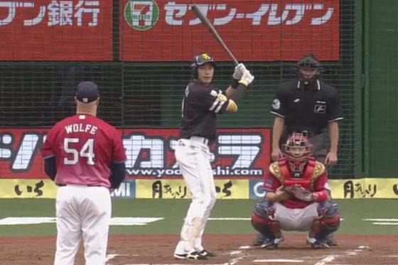 31号本塁打を放ったソフトバンク・柳田悠岐【写真:(C)PLM】