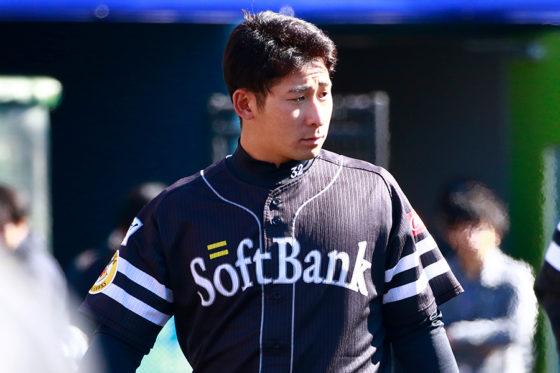ソフトバンク・塚田正義【写真:荒川祐史】