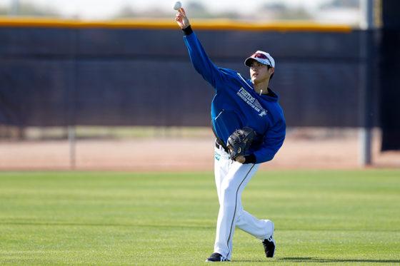 MLB挑戦を表明した大谷翔平【写真:田口有史】