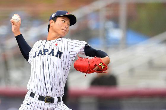 侍ジャパン高校代表にも選手された清水達也【写真:Getty Images】