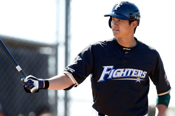 MLB挑戦表明で大きな話題を集める大谷翔平【写真:田口有史】