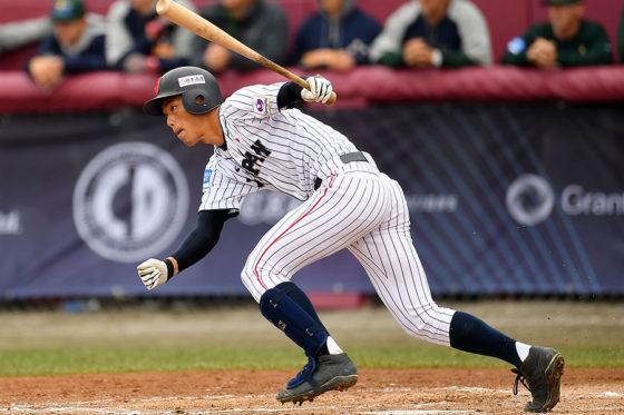 侍ジャパンU-18代表にも選ばれた中村奨成【写真:Getty Images】