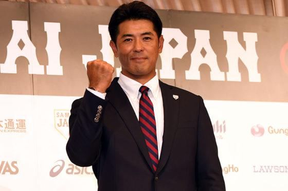「侍ジャパン」トップチームの稲葉篤紀監督【写真:Getty Images】