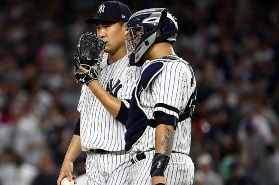日本人投手にも影響を与えそうな投球間「20秒制限」は導入を見送られた【写真:Getty Images】