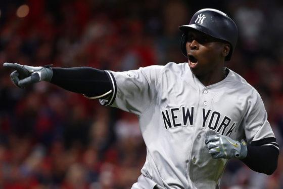 2打席連続となる本塁打を放ったヤンキース・グレゴリアス【写真:Getty Images】