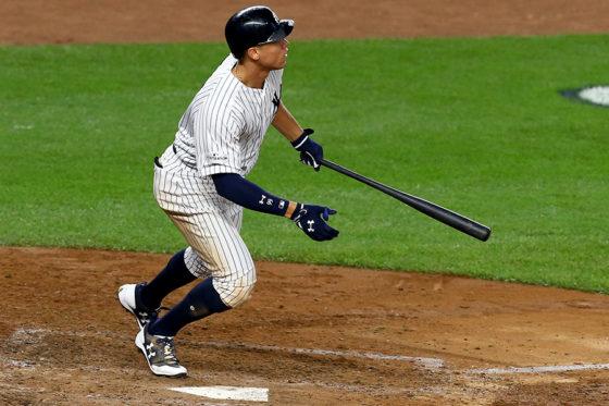 2試合連続となる本塁打を放ったヤンキース・ジャッジ【写真:Getty Images】