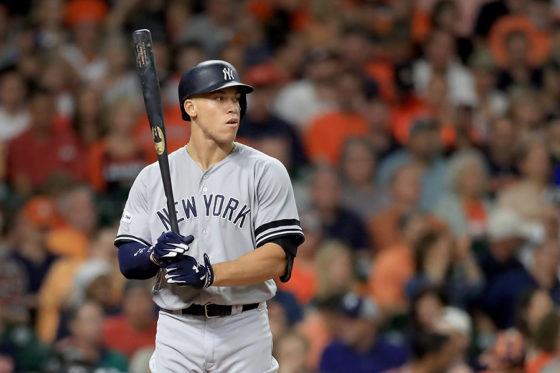 ヤンキースのジャッジ【写真:Getty Images】