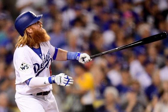 勝ち越し本塁打を放ったドジャース・ターナー【写真:Getty Images】