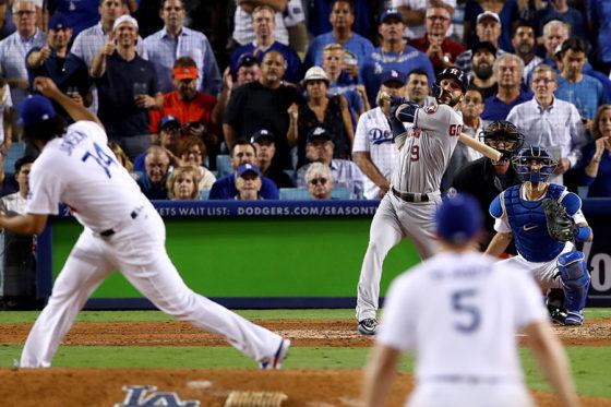 ドジャース・ジャンセンから本塁打を放ったアストロズ・ゴンザレス【写真:Getty Images】