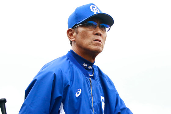 中日・森繁和監督【写真:荒川祐史】