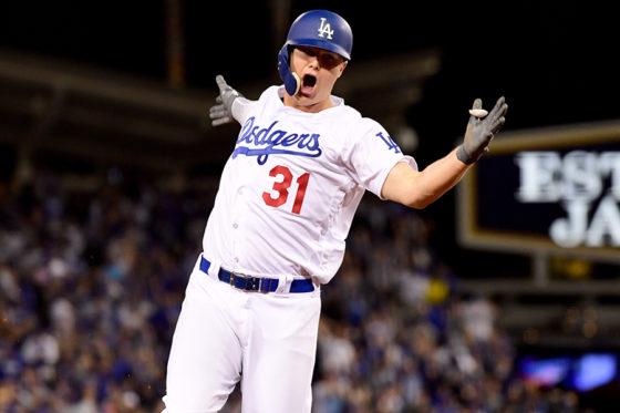 本塁打を放ったドジャース・ピーダーソン【写真:Getty Images】