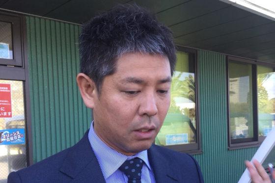 新たにロッテの投手コーチに就任した清水直行氏【写真:細野能功】