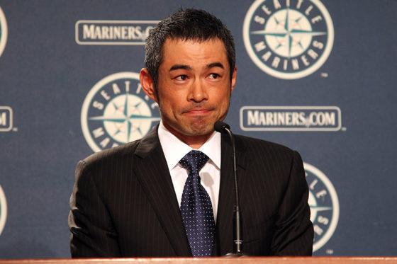 マリナーズに戻れば、2012年のシーズン途中にヤンキースに移籍して以来の球団復帰となるイチロー【写真:Getty Images】