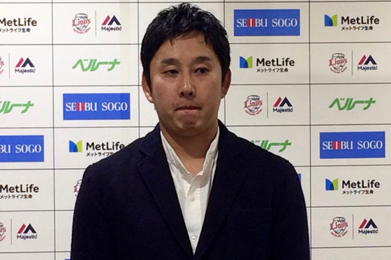 FA権行使を表明した西武・野上亮磨【写真:上岡真里江】