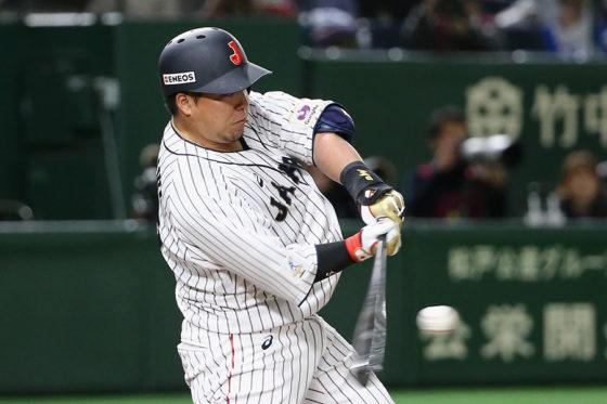 侍ジャパン・山川穂高【写真:Getty Images】