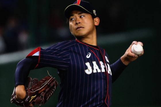 好投の侍ジャパン・今永【写真:Getty Images】