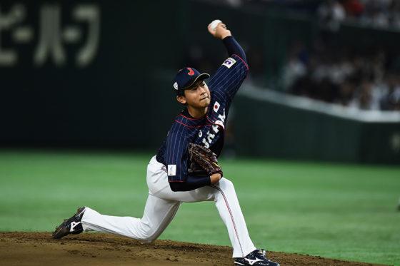 圧巻の投球を続ける侍ジャパン・今永【写真:Getty Images】