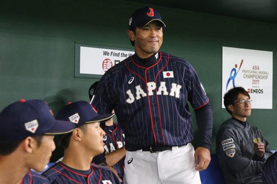 ENEOSアジアプロ野球チャンピオンシップ2017で優勝した侍JAPAN【写真:Getty Images】