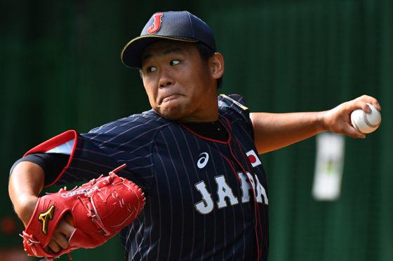侍ジャパン先発の田口【写真:Getty Images】
