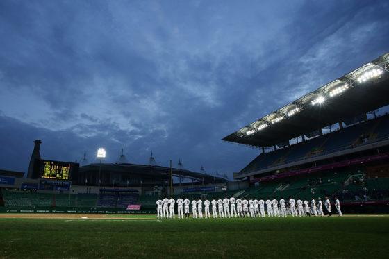 韓国プロ野球ハンファの選手がSNSの非公開メッセージで監督や大統領を侮辱し解雇【写真:Getty Images】