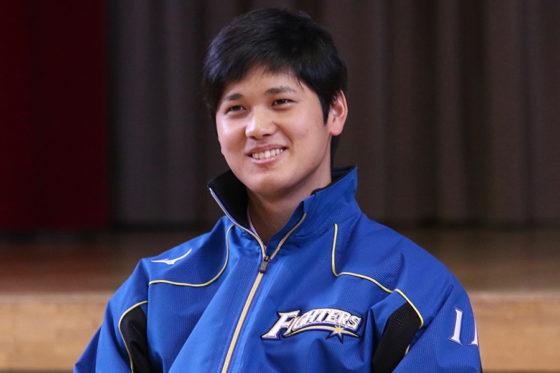 応援大使を務める北海道月形町を訪問した大谷翔平【写真:石川加奈子】