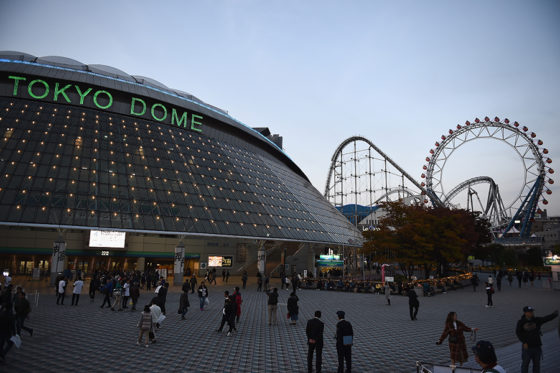 ロッテが東京ドームで2年ぶり2度目の主催試合を行う【写真:Getty Images】