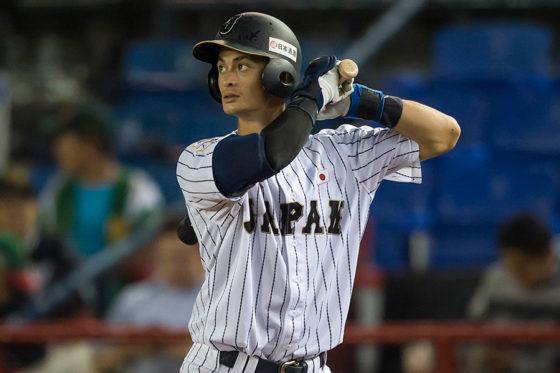 2016年に侍U23代表に選ばれメキシコでプレーした乙坂【写真:Getty Images】