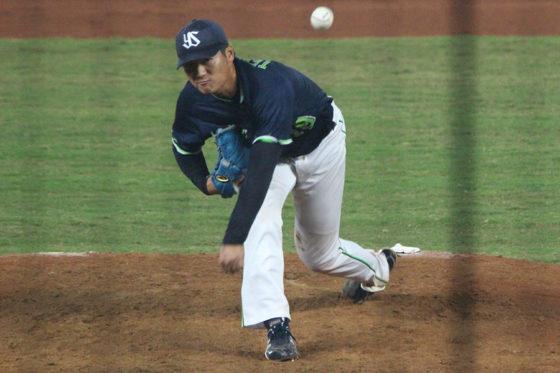 ウインターリーグで好投したイースタン選抜・寺島成輝【写真:広尾晃】