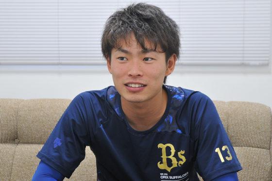 オリックス・山岡泰輔【写真:篠崎有理枝】