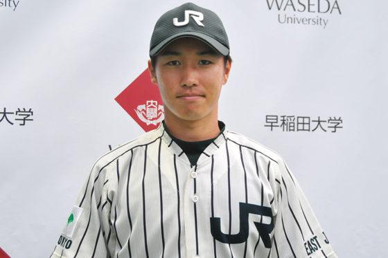 現在、JR東日本でプレーする吉永健太朗【写真:篠崎有理枝】